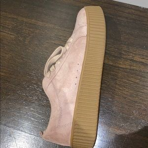 Nordstrom Call it Spring suede platform shoes